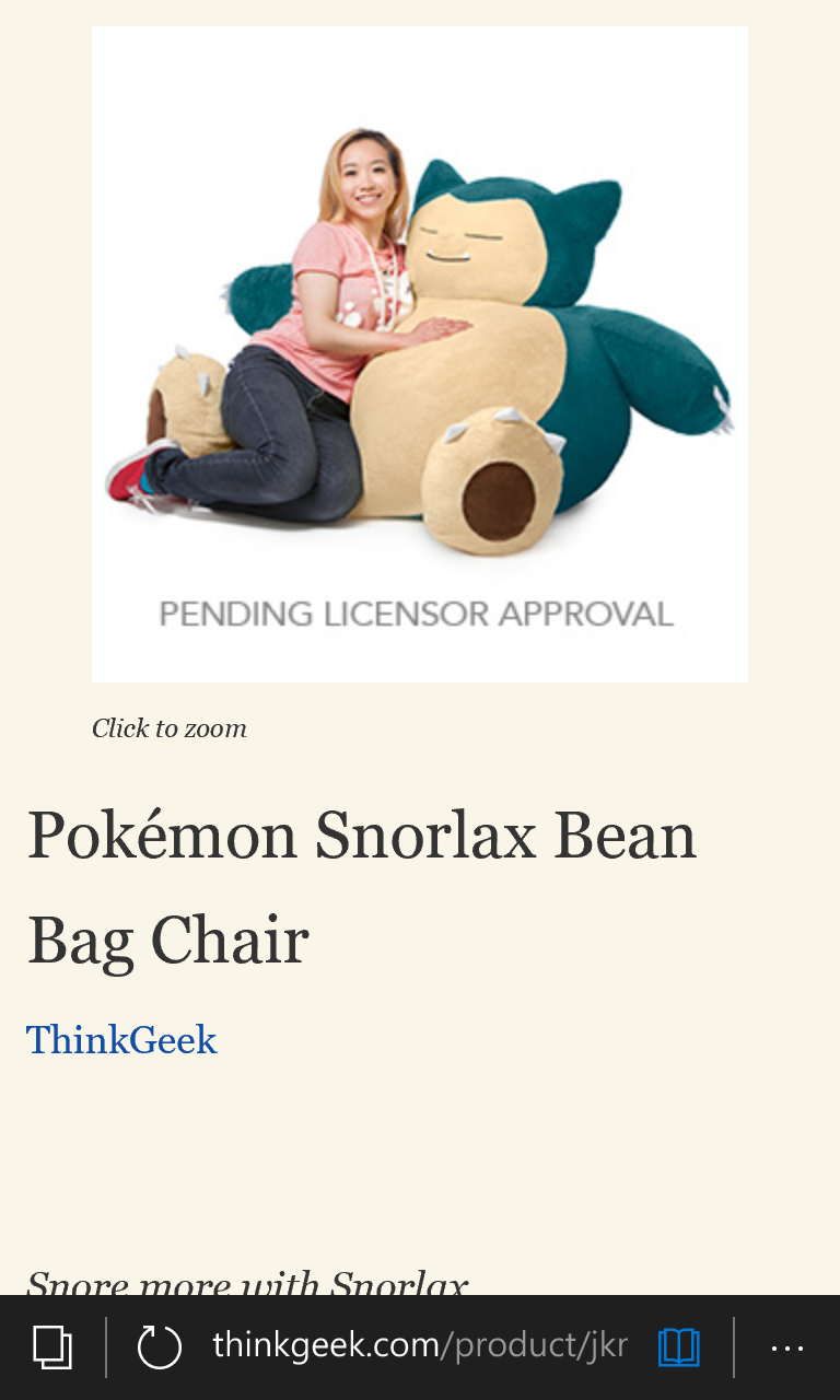 Pleasing Pokemon Snorlax Bean Bag Chair Hkgalden Andrewgaddart Wooden Chair Designs For Living Room Andrewgaddartcom