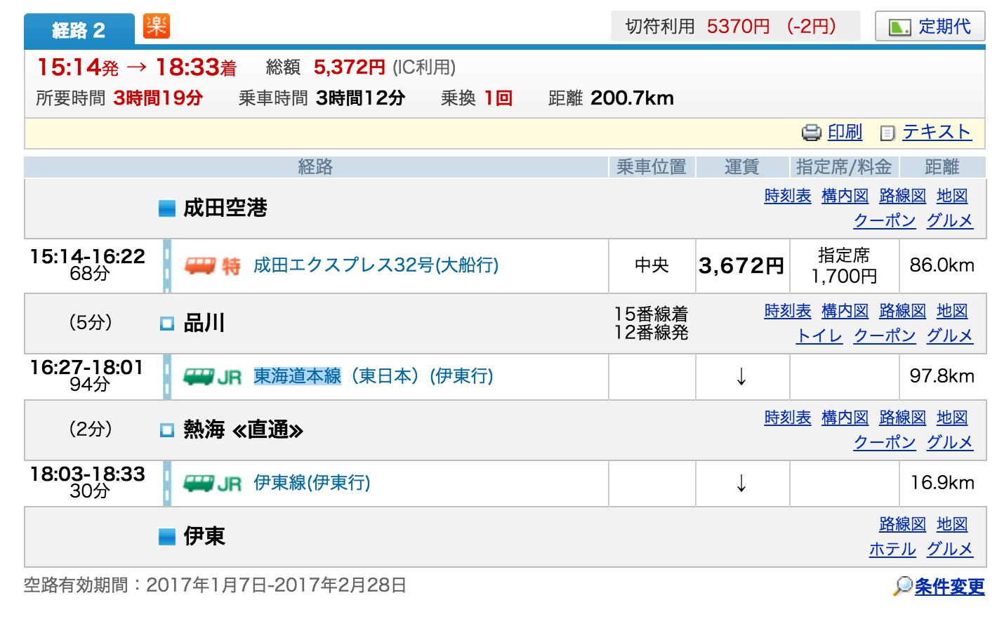 新幹線 表 東海道 料金